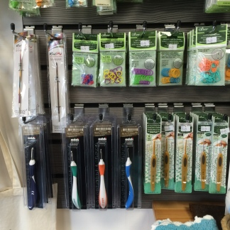 Clover Accessories, Crochet Hooks & Addi Swing Crochet Hooks