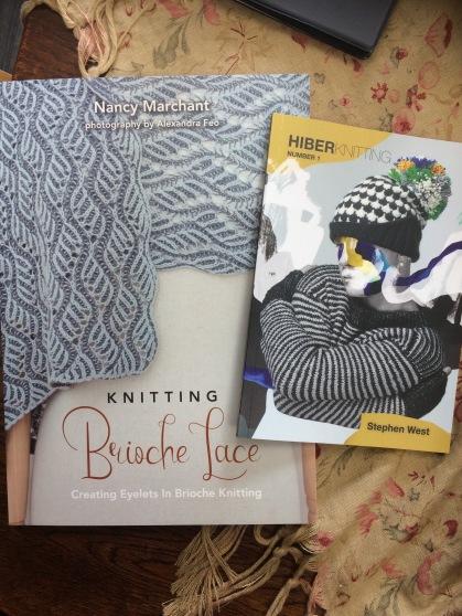 Brioche lace and Hiberknits